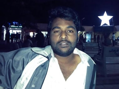 Rohith Vemula. Image courtesy: Facebookj