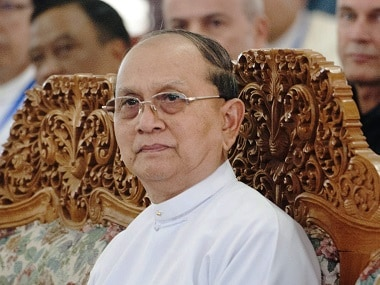 Myanmar President Thein Sein in a file photo. AFP