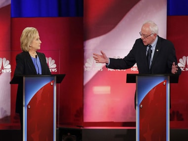 Clinton scores on guns, Sanders wallops her on other issues/ AP