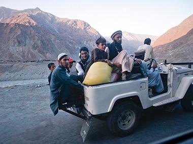 Residents in Gilgit. Representational image. Reuters