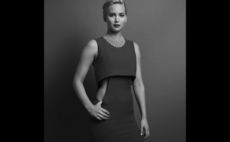 """Jennifer Lawrence, Best Actress In A Motion Picture - Musical Or Comedy for ""Joy"". Photo by @inezandvinoodh #goldenglobes,"" said the official handle of Golden Globe on Instagram. Image courtesy: @goldenglobes/Instagram"