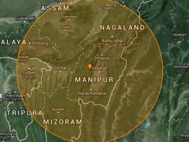 Source: Earthquake Track
