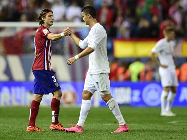 File image from Madrid Derby. AFP