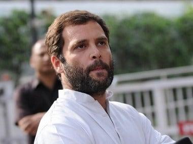 Congress vice-president Rahul Gandhi. AFP