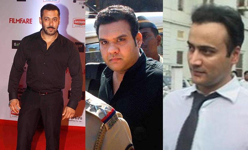 (From left) Salman Khan, Alistair Pereira and Sanjeev Nanda. Images taken from Solaris, PTI and IBNLive
