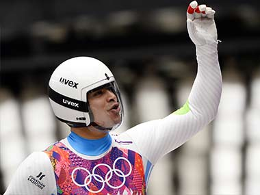 File image of Shiva Keshavan. AFP
