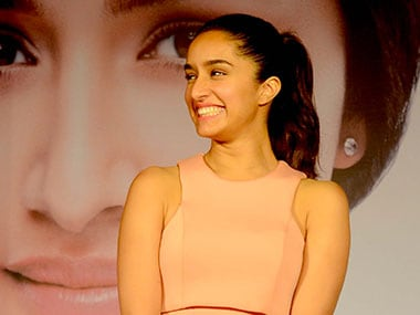 File Image of Shraddha Kapoor. Firstpost