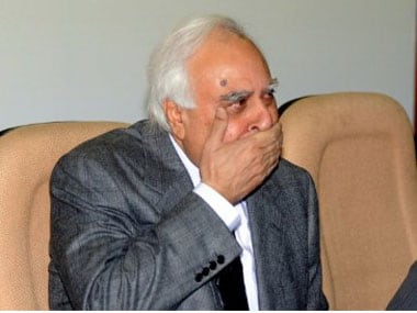 Senior Congress leader Kapil Sibal. AFP