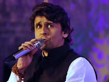Sonu Nigam. File photo. AFP
