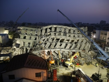 Taiwan earthquake: Death toll hits 34, hunt on for survivors