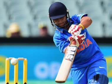Anuja scored 22 runs off 17 balls and bagged 3 wickets. Getty