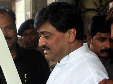 File image of former Maharashtra chief minister Ashok Chavan. PTI