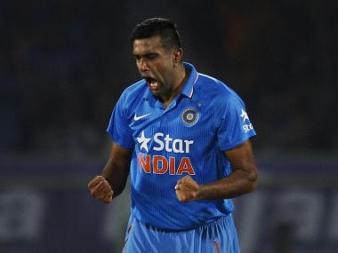 Ravichandran Ashwin finished with figures of 4-1-8-4. AP