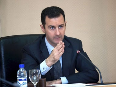File photo of Assad. Reuters