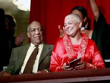 Bill Cosby and his wife Camille. AP