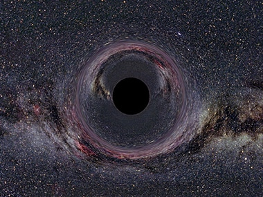 Black hole in the Milky Way. Getty images