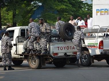 Burundi policemen patrol the street. File photo AFP