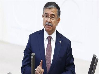 Turkish Defence Minister Ismet Yilmaz. @yenisafak/Twitter