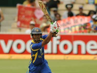 File photo of Dinesh Chandimal. AFP