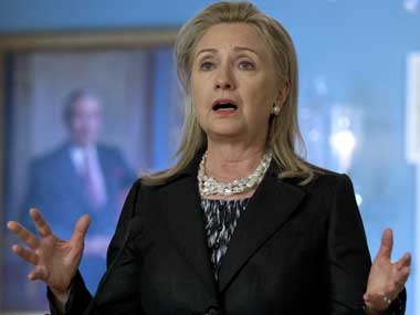 Hillary Clinton. File photo. AP