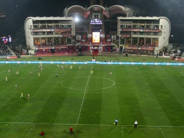 DY Patil hosted the ISL 2014 final. Image Credit: ISL