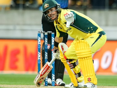 David Warner missed his sixth ODI century by 2 runs. Getty Images