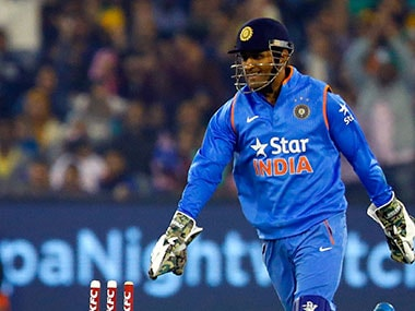 MS Dhoni's swagger has returned and he looked composed on field. Getty Images