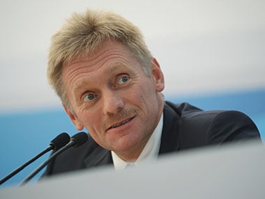 File photo of Vladimir Putin's spokesman Dmitry Peskov. Getty Images