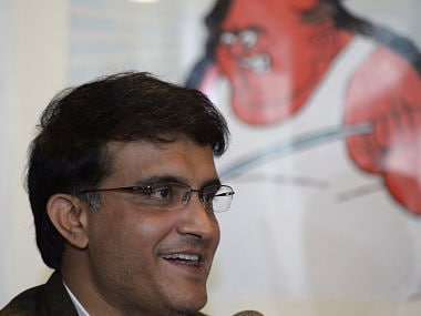 Former Indian cricket captain Sourav Ganguly. AFP