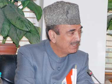 File image of Ghulam Nabi Azad. Image courtesy: PIB