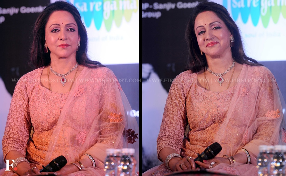 Hema Maliniis one of the few South Indian actresses of her time to have made is big in Bollywood. She got the name 'Dream Girl' after starring in a movie by the same name. Hema Malini said in an interview once that people still call her 'Basanti', her character from Sholay. Sachin Gokhale/Firstpost
