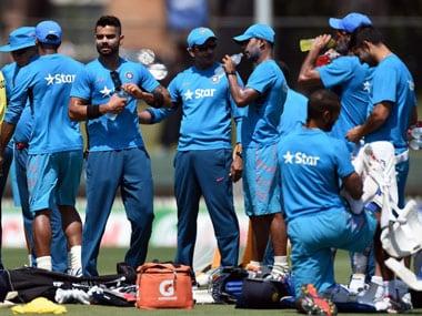 Team India. AFP