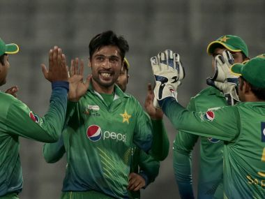 Mohammad Amir was the star bowler again for Pakistan. AP