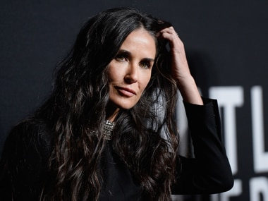 Demi Moore. Getty Images
