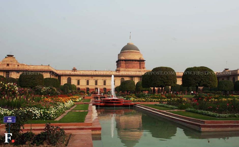 The world famous Mughal Gardens in Rashtrapati Bhavan will be open for public from Friday. Naresh Sharma/Firstpost