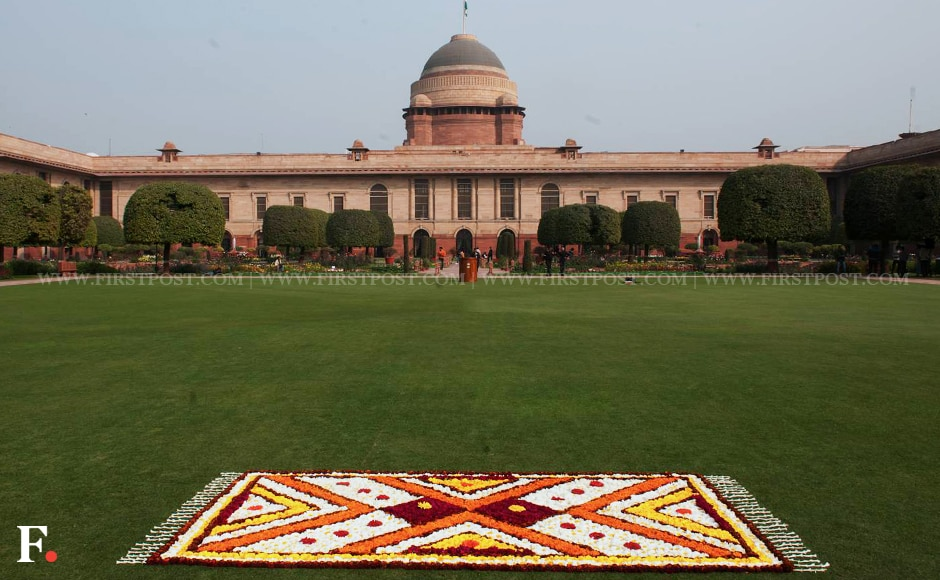 President Pranab Mukherjee on Thursday inaugurated the annual 'Udyanotsav', which marks the annual opening of Mughal Gardens to the public. Naresh Sharma/Firstpost
