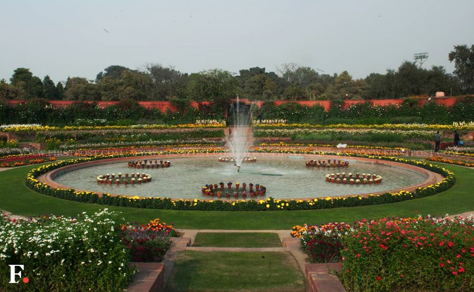 About 4.68 lakh people had visited Mughal Gardens last year. Naresh Sharma/Firstpost
