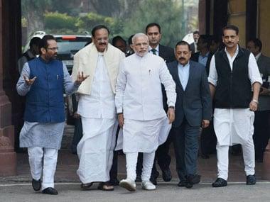 Modi government said MGNREGA was in a pitiable condition under the UPA. PTI