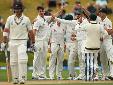 The recognised New Zealand batsmen made starts, but were unable to convert them. Getty Images