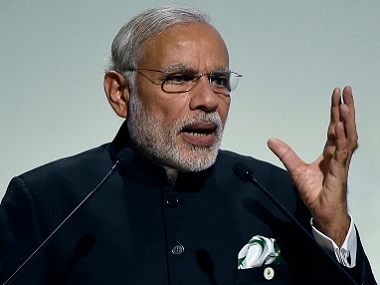 Narendra Modi in a file photo. AFP