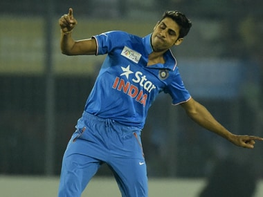 Ashish Nehra was the pick of the bowlers. AFP