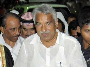File photi Oommen Chandy. PTI