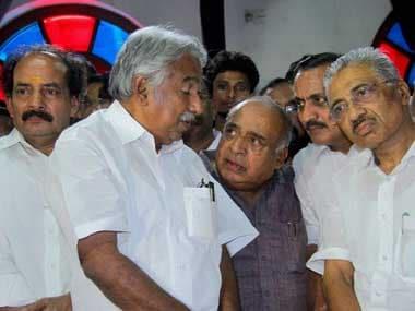 Kerala CM Oommen Chandy. PTI