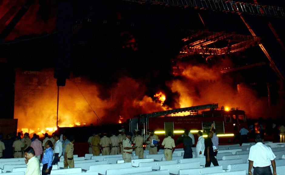 All aspects including sabotage angle will be investigated while ascertaining the cause of the massive fire that gutted the stage on Sunday night, an official has said. PTI