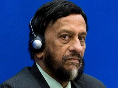 RK Pachauri. AFP