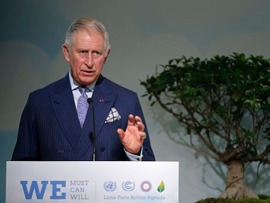 Britain's Prince Charles in a file photo. Reuters