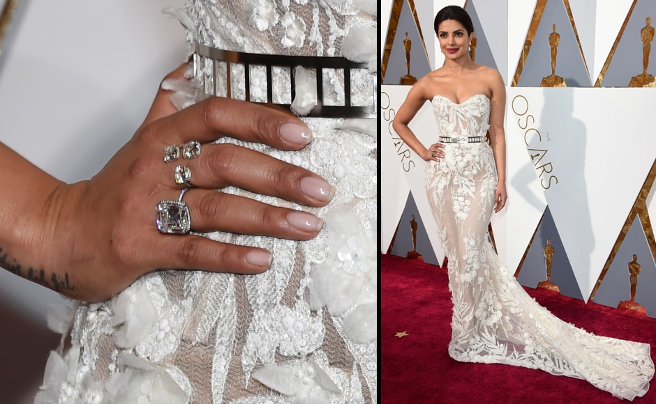 Daddy's little girl (who's owning the world), Priyanka Chopra. (Getty Images)