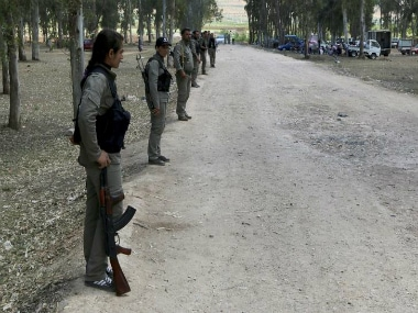 Members of the PYD. Reuters