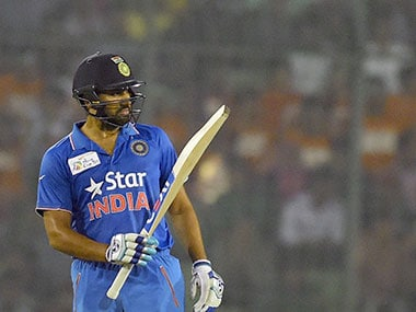 Rohit built his innings to perfection amidst top-order collapse, hitting seven fours fours and three sixes as the 25,000 strong partisan Bangladeshi fans were stunned into silence. AFP