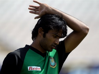 File photo of suspended Bangladeshi pacer Shahadat Hossain. Getty Images